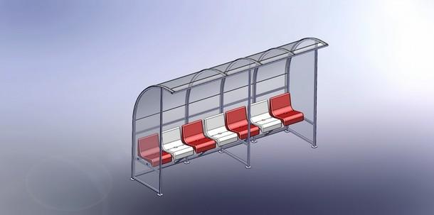 Сборка скамейки для запасных 4